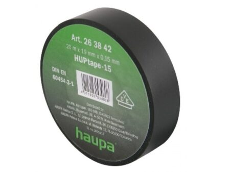 haupa isoleerlint 20mx19mmx0 2C15mm must