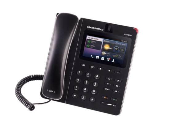 grandstream gxv 3240 multimedia ip phone with 4.3r digital color lcd 2C android 2C wifi 2C poe